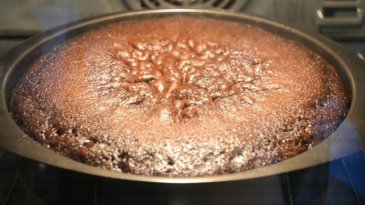 простой шоколадный бисквит по рецепту моей бабушки