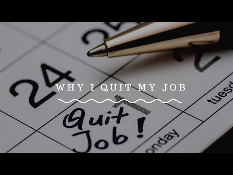 Why I decided to quit my job and started to work for myself