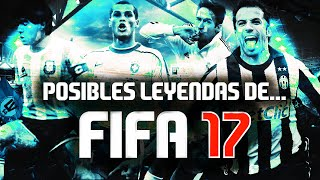 FIFA 17 | POSIBLES LEYENDAS | RONALDO, MARADONA, CRUYFF