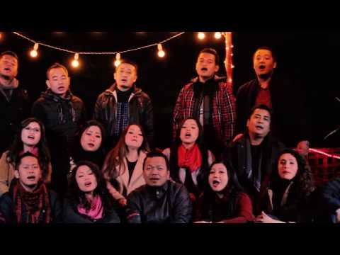 BESY Choir (2015 - 17) featuring Hmangaihi - Christmas In Heaven (Remake)