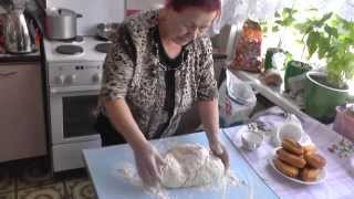 В гостях у мастерицы. Собственный рецепт дрожжевого хлеба.  Новак Раиса Алексеевна.