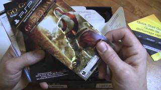 Unboxing the PSP 3000 God of War Ghosts of Sparta Bundle