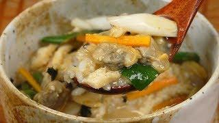 Fukagawameshi (clam Miso Soup Over Rice) 深川めし 作り方レシピ