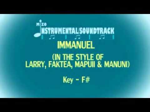 Immanuel Instrumental/Karaoke (In The Style Of LARRY,FAKTE A,MANUNI & MAPUII)