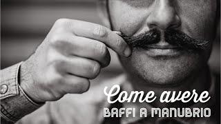 Come avere i baffi a manubrio   Barber Shop Crew