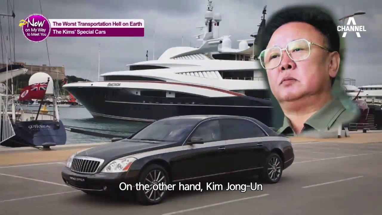 kim jong un 39 s special cars nowonmywaytomeetyou ep15 eng sub youtube. Black Bedroom Furniture Sets. Home Design Ideas