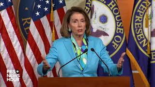 WATCH: Rep. Pelosi holds weekly news conference