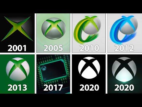 Xbox Startup Screens Evolution | 2001 - 2020
