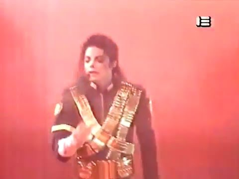 Michael Jackson Dangerous World Tour Jam Live In Moscow 1993