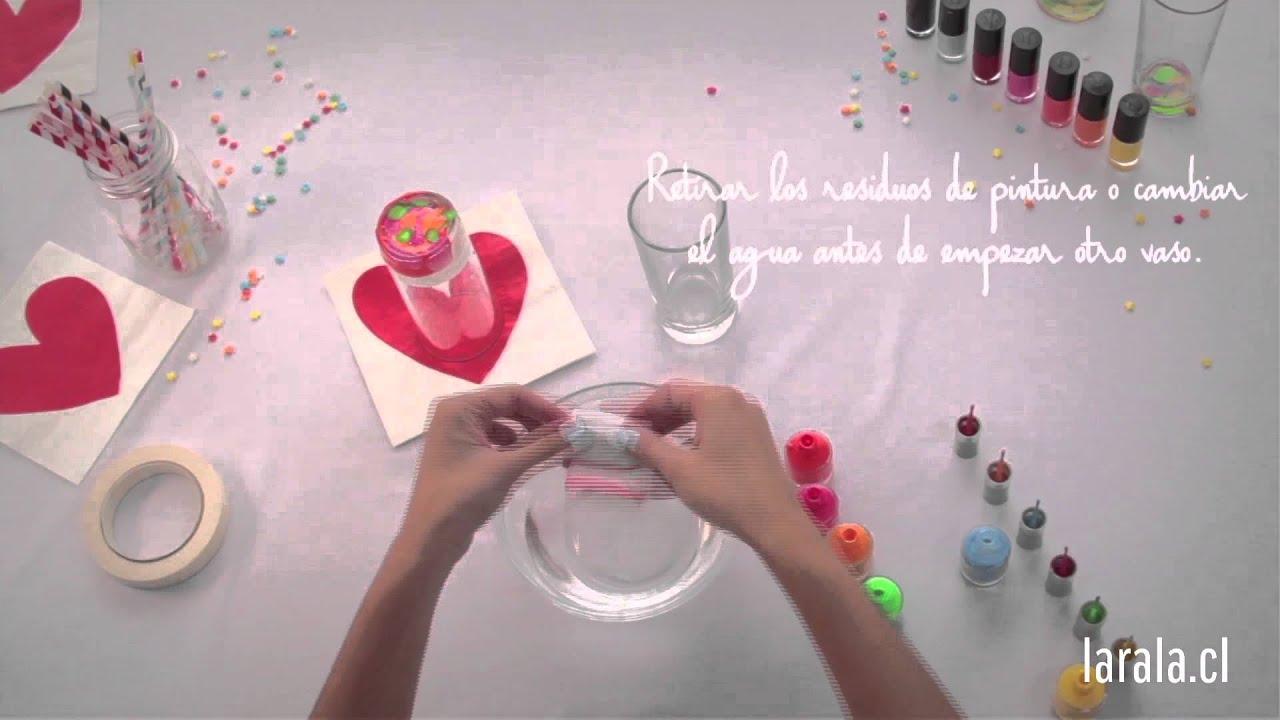 Manicure a los vasos - YouTube