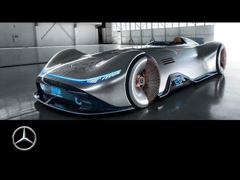 Mercedes-Benz Vision EQ Silver Arrow: Show Car World Premiere