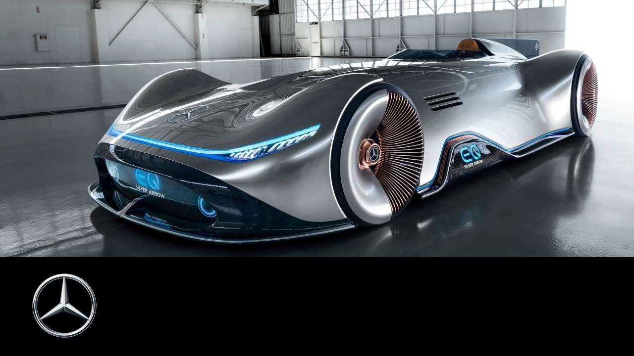 Mercedes-Benz Vision EQ Silver Arrow: Show car world premiere
