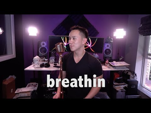 Ariana Grande - Breathin (Jason Chen Cover)