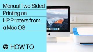 Автоматичний двосторонній друк на принтерах HP з комп'ютера Mac | принтери HP | л. с.