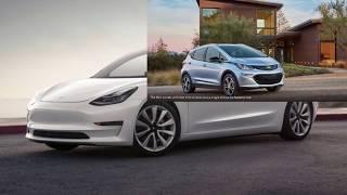 Tesla Model 3 Vs. Bolt EV