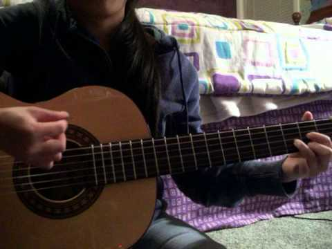 Thunder By Boys Like Girls Guitar Cover With Chords Youtube