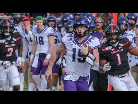 TCU at Texas Tech Football Highlights