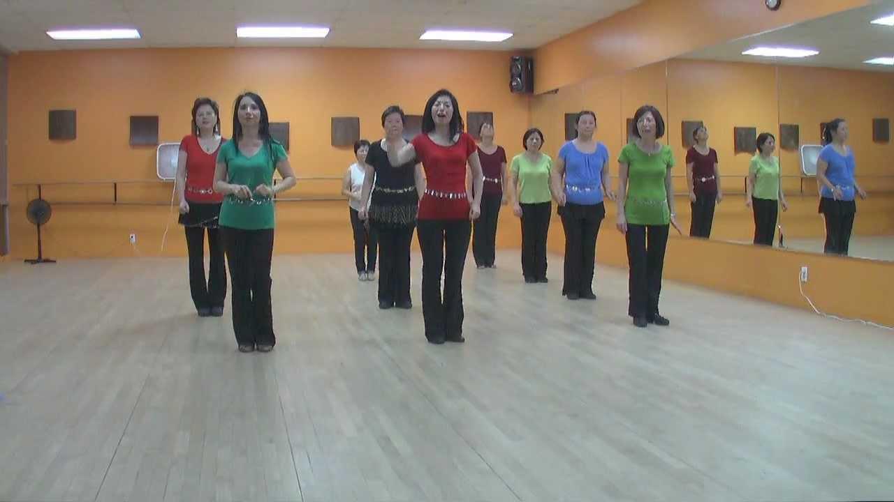 Hot Mess - Line Dance (Dance & Teach in English & 中文) - YouTube