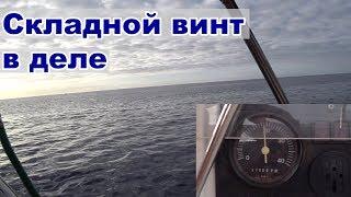 Складной винт на парусной яхте Первый выход Жизнь на яхте Cupiditas