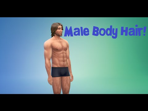 The Sims 4 Mod Showcase|| Male Body Hair!