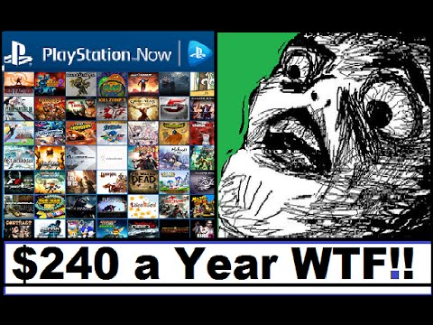 Playstation Now Cost Too Much