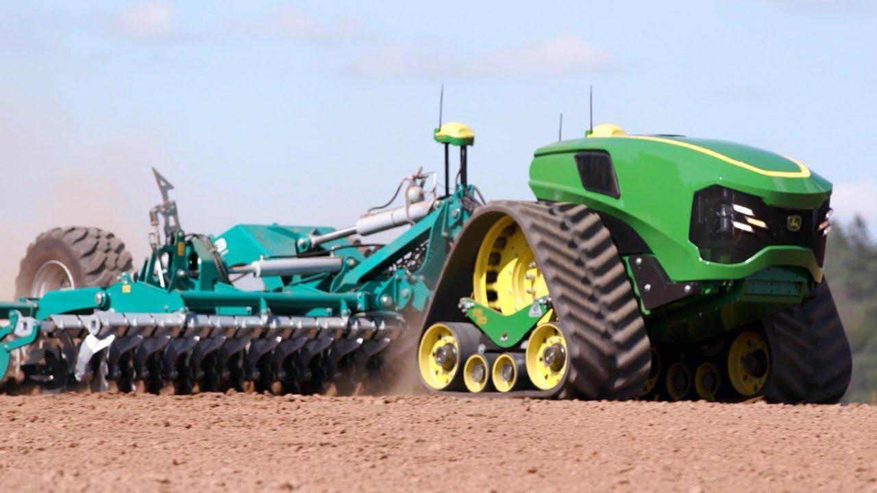 Autonomous Electric Tractor - Future of Farming | John Deere