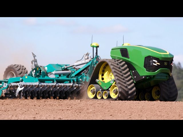 Autonomous Electric Tractor - Future of Farming | John Deere