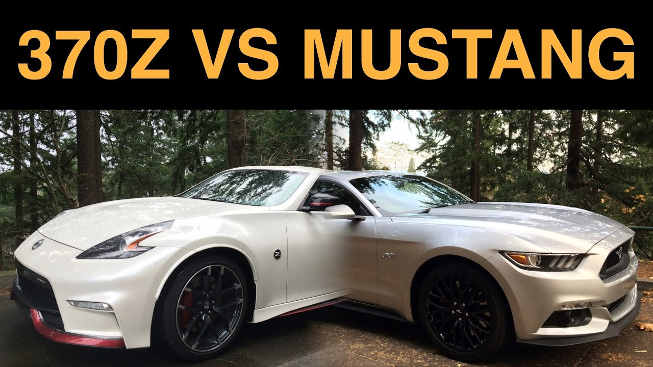 Nissan 370z nismo vs ford mustang gt 6 key differences