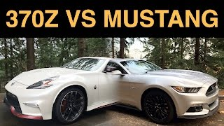 Nissan 370Z Nismo vs Ford Mustang GT - 6 Key Differences