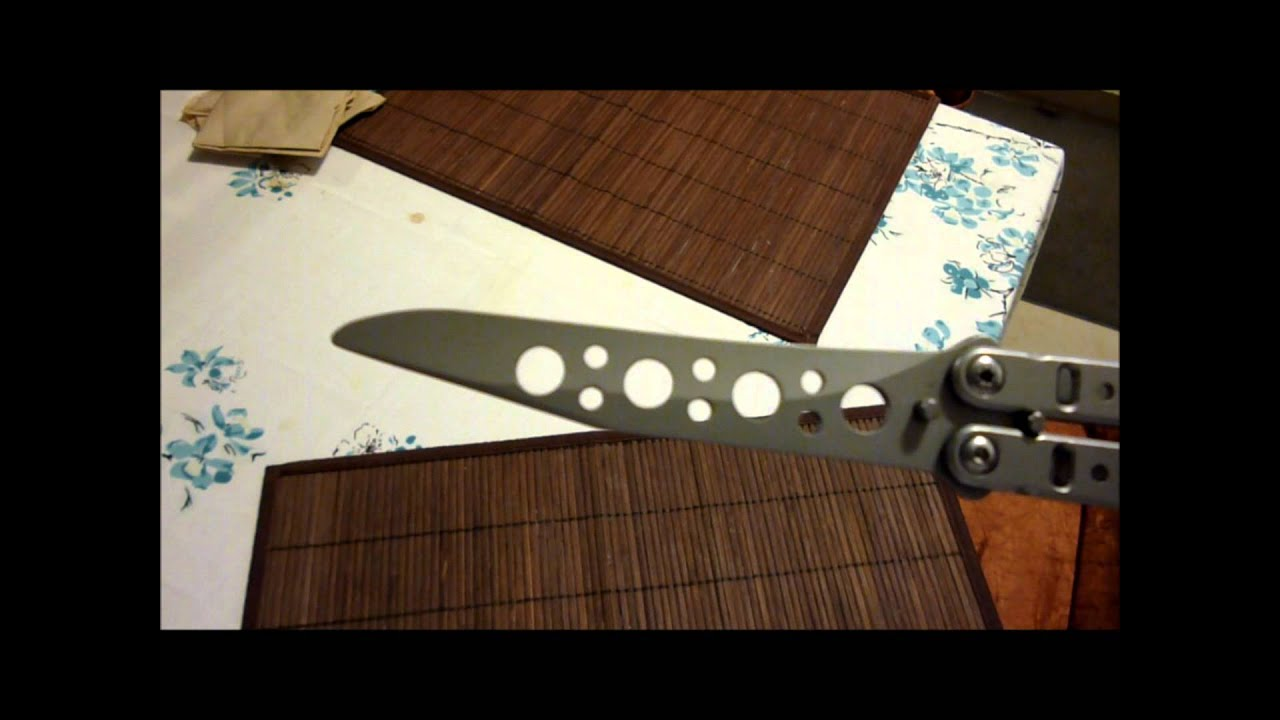 Bradley Kimura Style Butterfly Knife (Balisong) Trainer