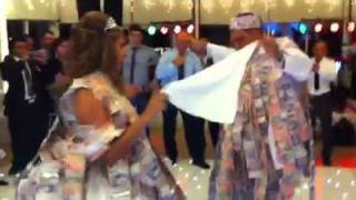 Greek wedding money dance (Dino and Christina)