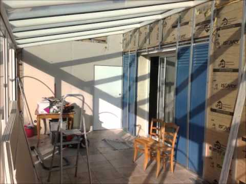 Am nagement interieur d 39 une veranda youtube for Amenagement interieur