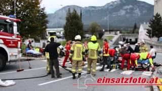 T / KU | schwerer Verkehrsunfall auf L212 in Kirchbichl