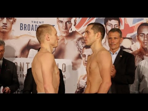 COME ON QUIGG! - SCOTT QUIGG v OLEG YEFIMOVICH - OFFICIAL WEIGH IN FROM MONACO / BOXING BONANZA