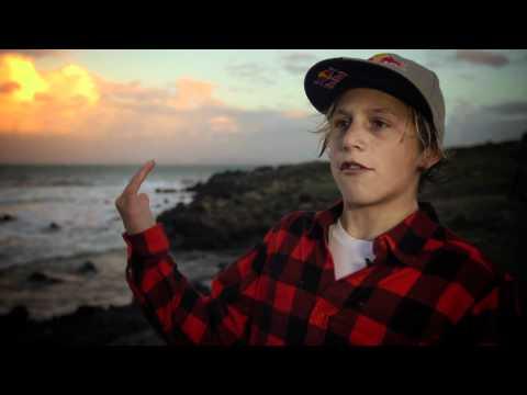 13 year old surfer Leonardo Fioravanti in Sardegna, Italy