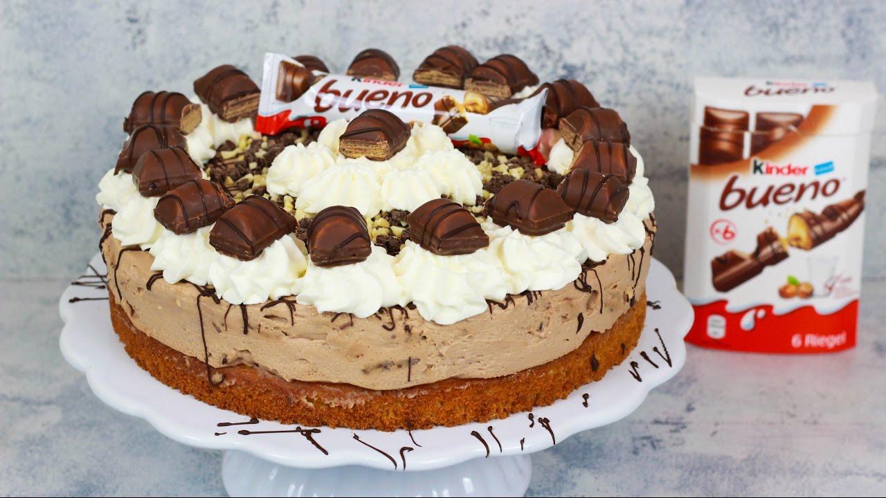 Kinder Bueno Torte  Haselnusstorte  YouTube
