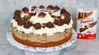 Kinder Bueno Torte - Haselnusstorte