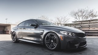 BMW M4 F82 Lowered with H&R Springs