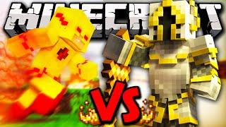 ZOOM VS MAXED PLAYER - Minecraft Batalha de Mobs - Minecraft SuperHeroes Mods