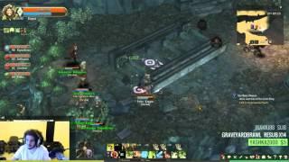 Tree of Savior Level 90 Dungeon [INSANE EXP] ( Twitch Highlight )