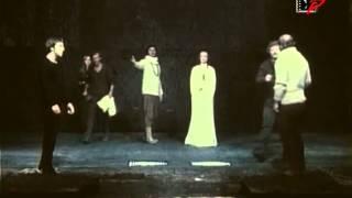 """Владимир Высоцкий - Фрагмент спектакля """"Гамлет"""". Часть 1"""