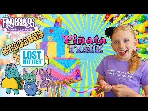 Surprise Piñata & Claw Machine Party!