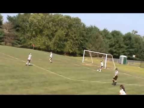 Saucon Valley vs Nazareth Girls Soccer First Half #2