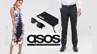 Зимние покупки одежды ASOS