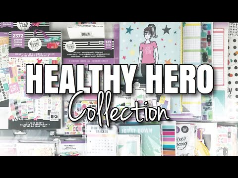 HEALTHY HERO Happy Planner Girl Collection | At Home With Quita