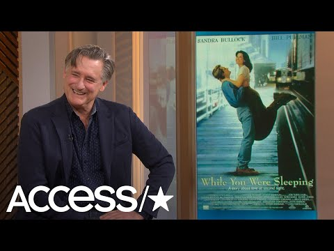 Bill Pullman's Working With Sandra Bullock On 'While You Were Sleeping' Stories Are Everything!