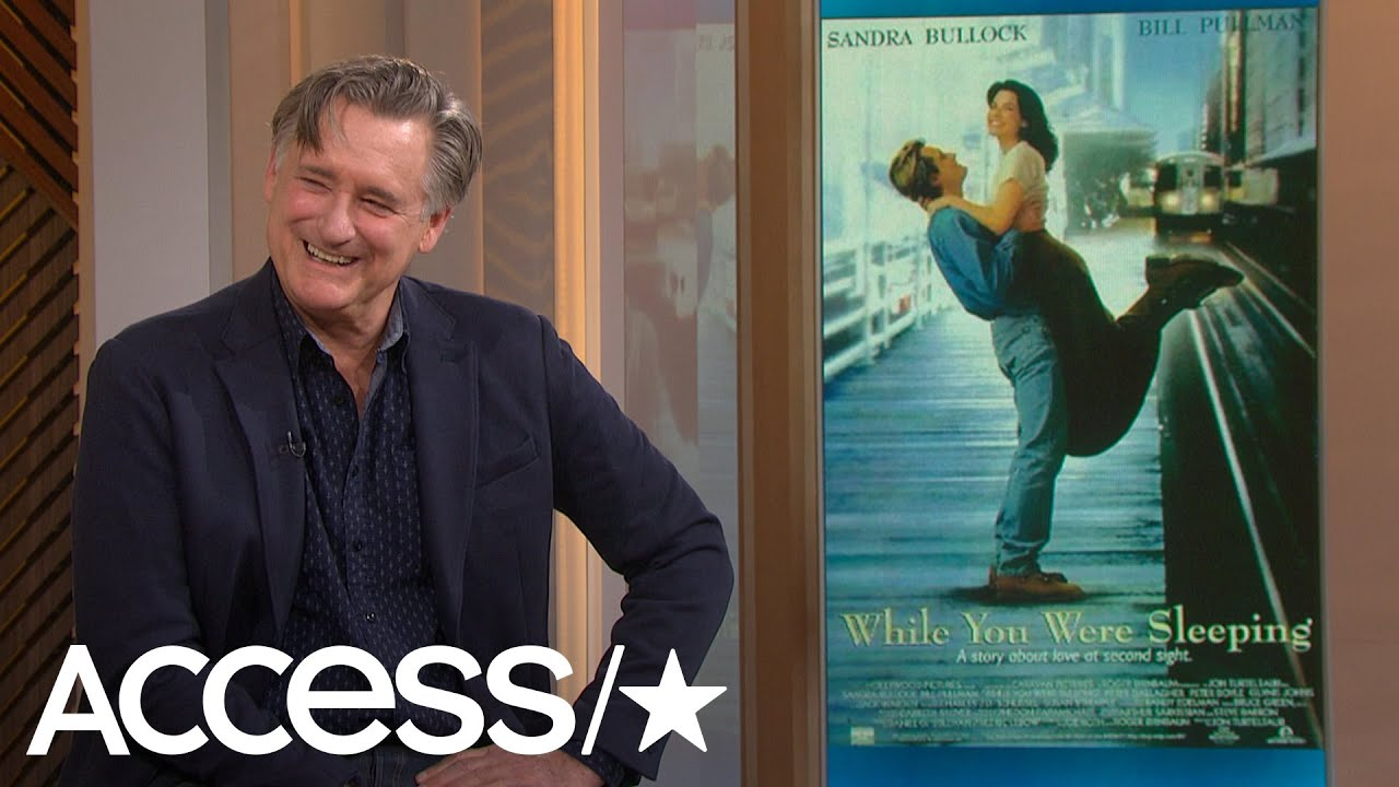 Download Bill Pullman's Working With Sandra Bullock On 'While You Were Sleeping' Stories Are Everything!