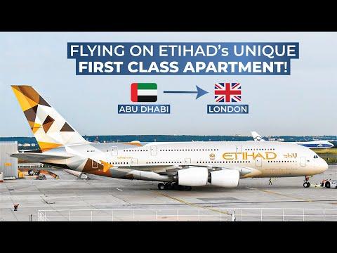 TRIPREPORT | Etihad Airways (FIRST CLASS APARTMENT) | Airbus A380 | Abu Dhabi - London Heathrow