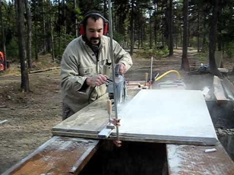 Diy Granite Slab Cutting Long Version Youtube