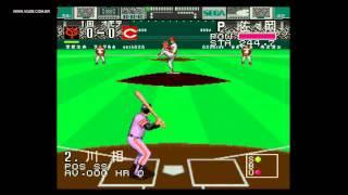 Pro Baseball Super League CD (Pro Yakyuu) - Sega CD / Mega CD - VGDB